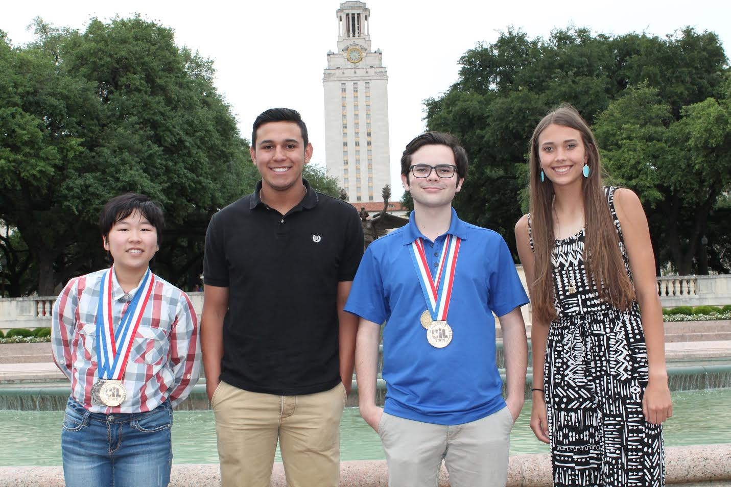 Image of UIL winners at State Competition.